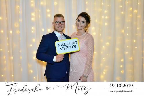Svadba Frederika a Matej